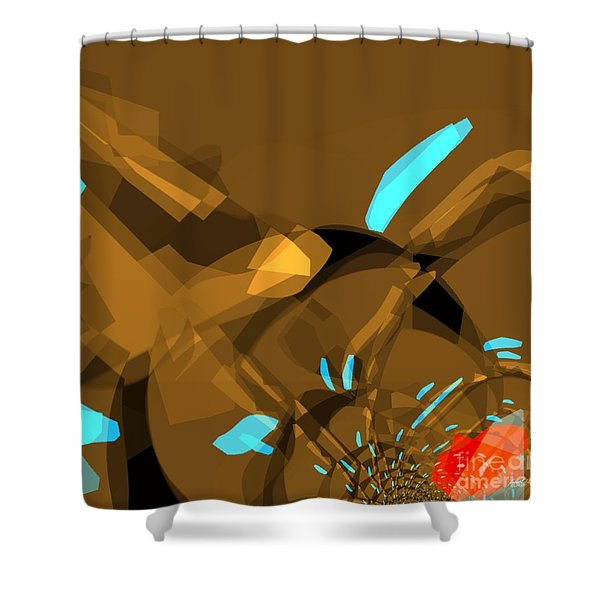 I Abstract You Shower Curtain