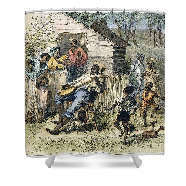 In Old Virginny, 1876 Shower Curtain