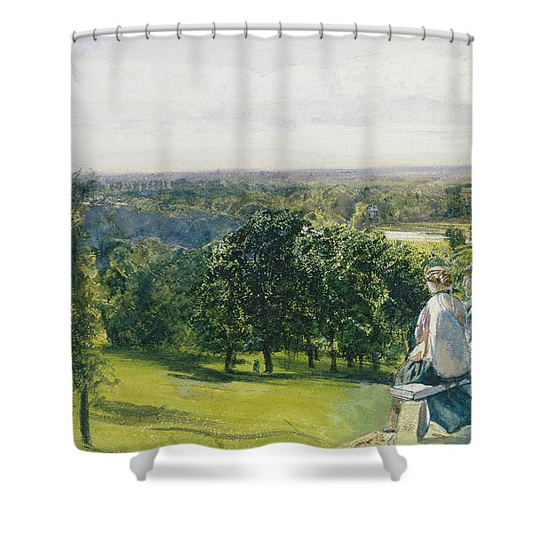 In Richmond Park Shower Curtain