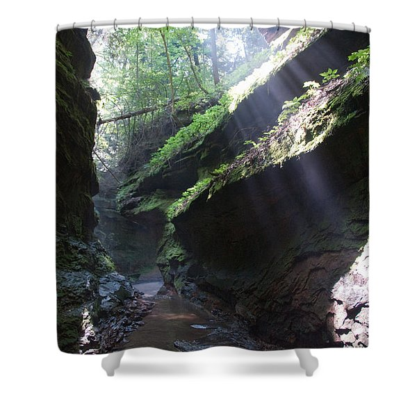 In The Cleft Of The Rock Shower Curtain