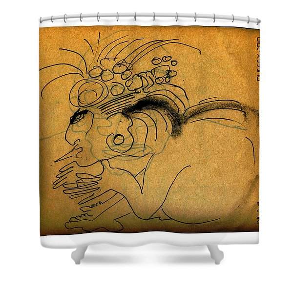 Inca 2 Shower Curtain