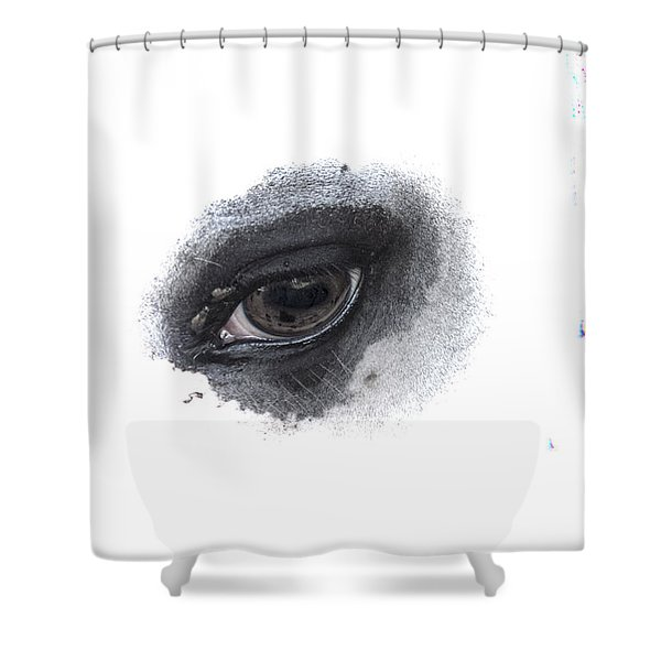 Indys Eye Shower Curtain