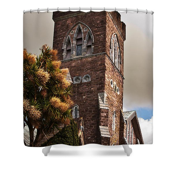 Irish Church Shower Curtain