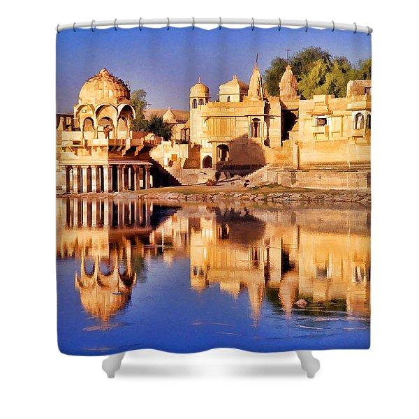Jaisalmer Rajasthan Shower Curtain