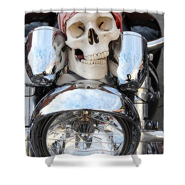 Jimmy Bones Shower Curtain
