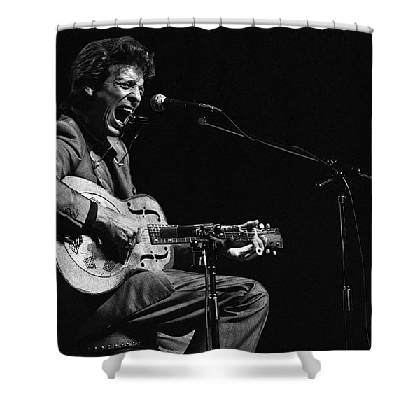 John Hammond Shower Curtain