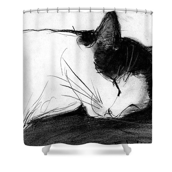 Joujou 1 Shower Curtain