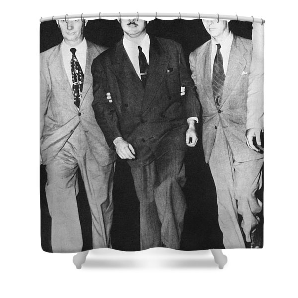 Julius Rosenberg Shower Curtain