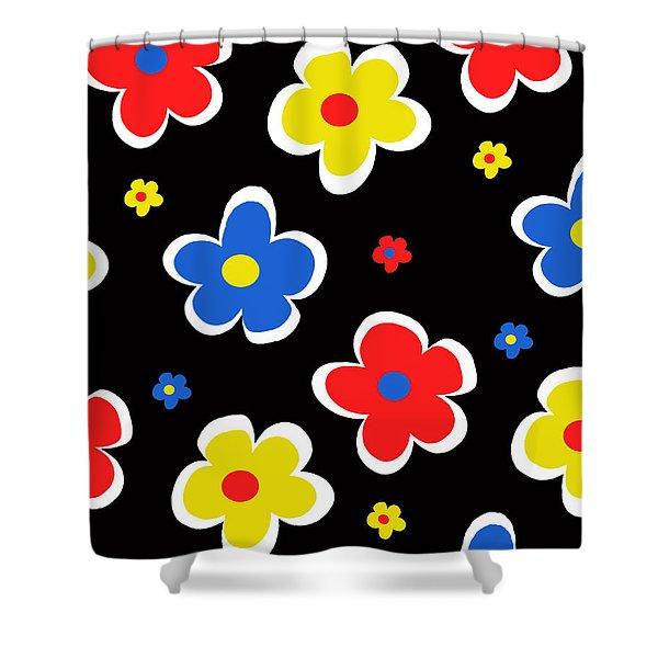 Junior Florals Shower Curtain