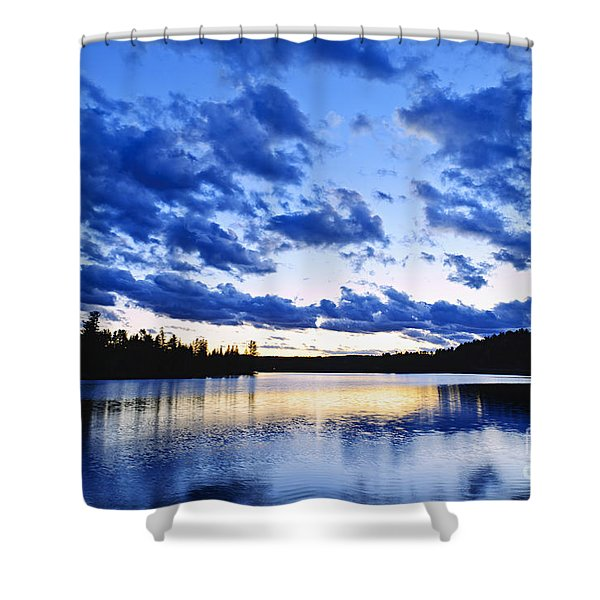 Just Before Nightfall Shower Curtain