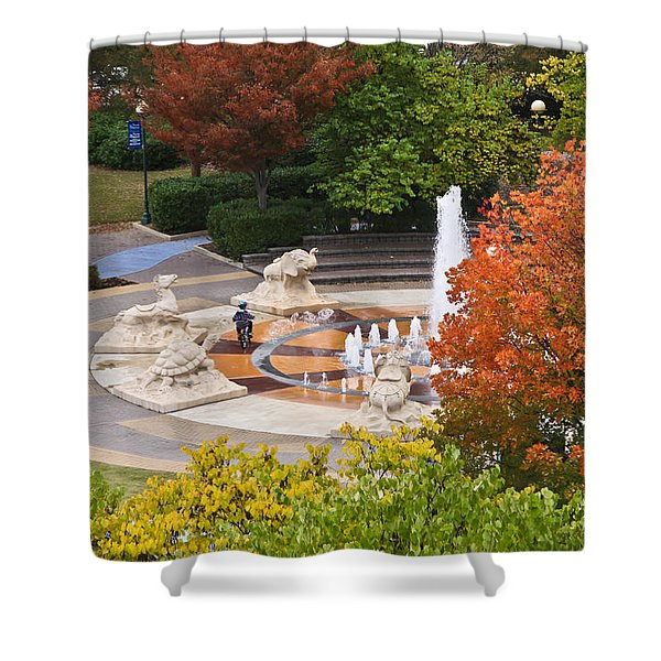Keeping Dry Shower Curtain