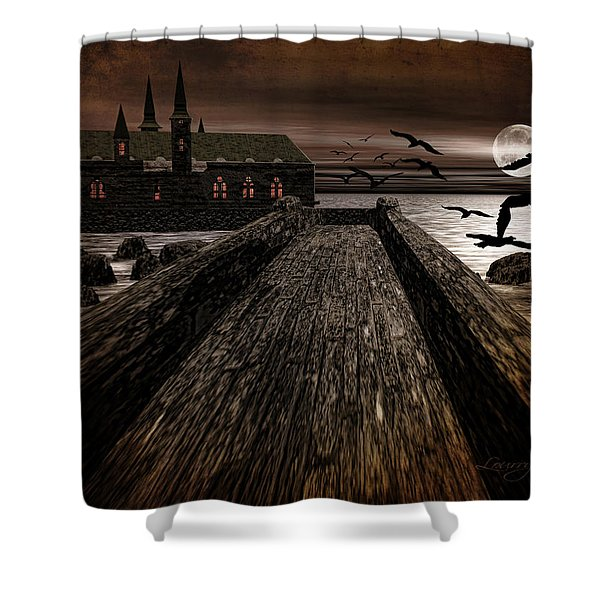 Knight's View Shower Curtain