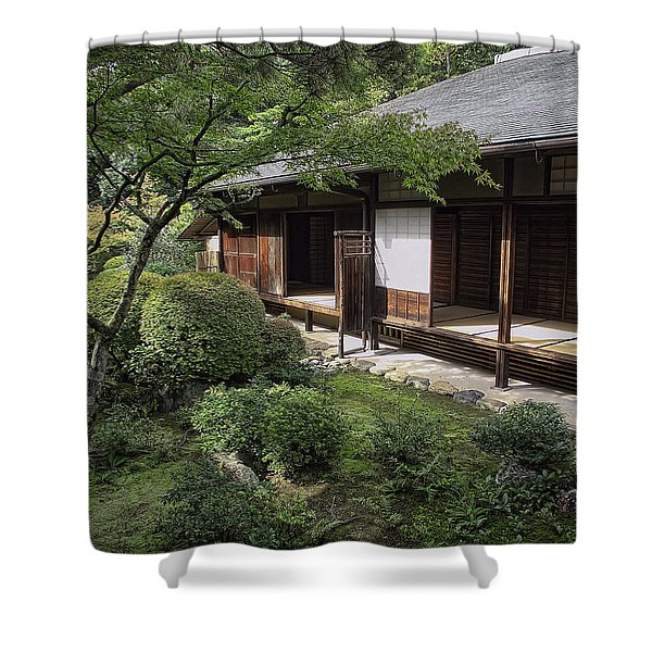 Koto-in Zen Tea House And Garden - Kyoto Japan Shower Curtain