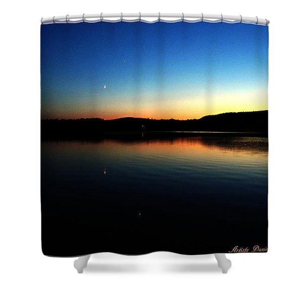 Lac Caribou Quebec Shower Curtain