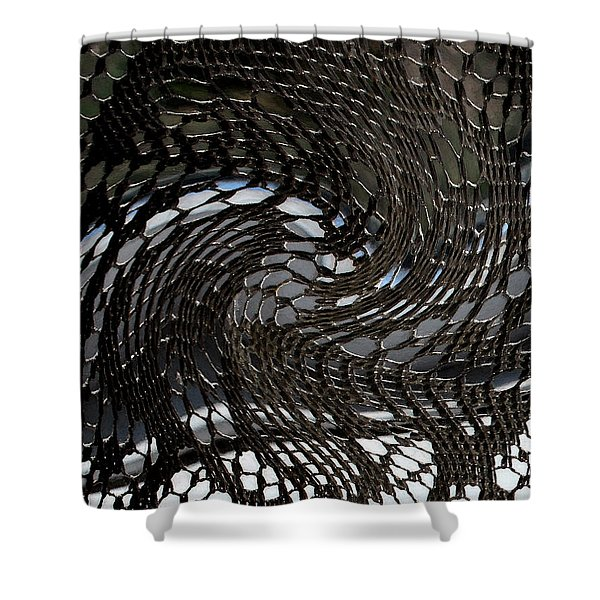 Lacey Abstract2 Shower Curtain