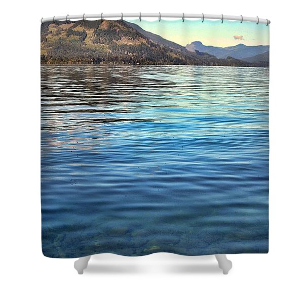 Lake Cowichan Bc Shower Curtain