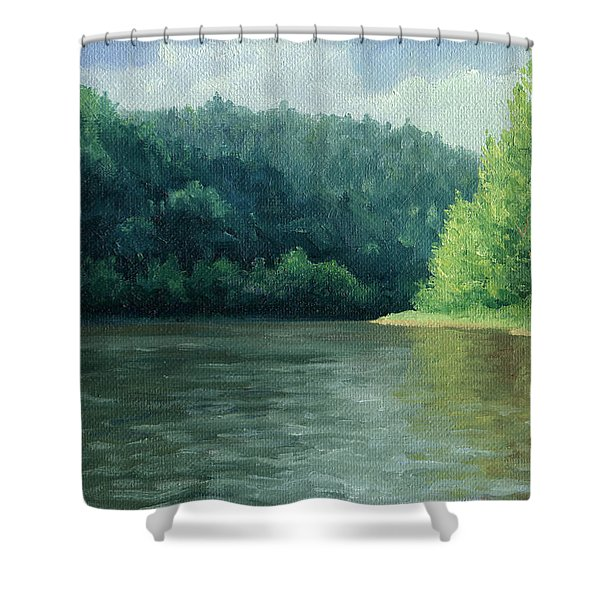 Later That Day Shower Curtain