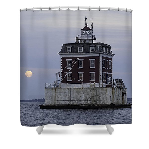Ledge Light Shower Curtain
