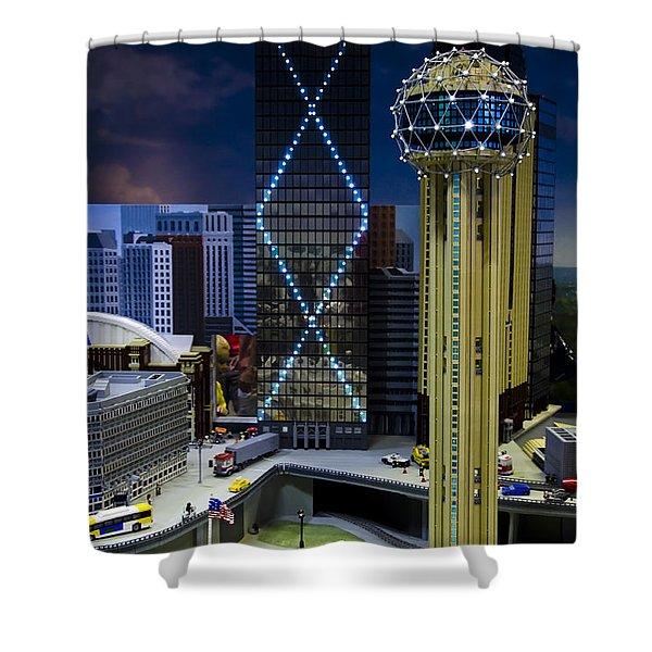 Legoland Dallas II Shower Curtain