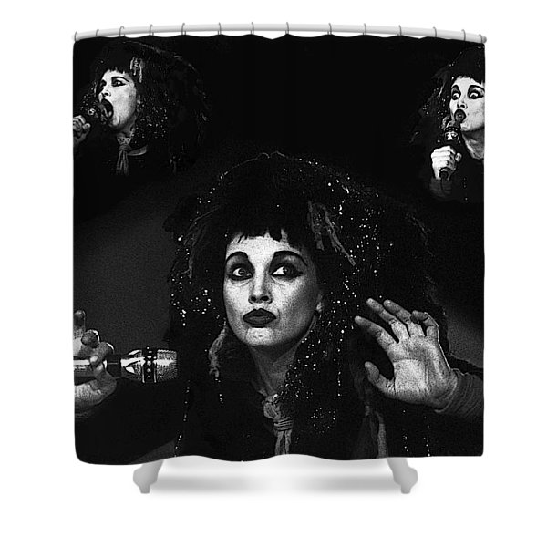 Lene Lovich  Shower Curtain