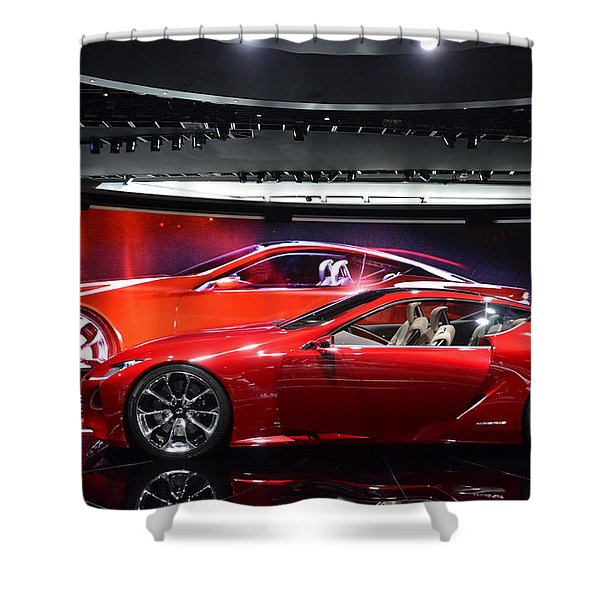 Lexus Lf-lc Shower Curtain