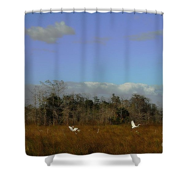 Lifes Field Of Dreams Shower Curtain