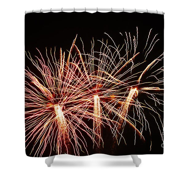 Shower Curtain featuring the photograph Light Painting by Agusti Pardo Rossello