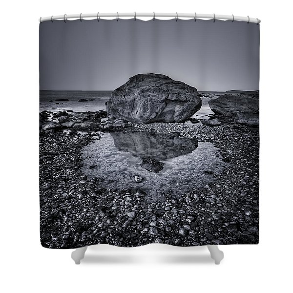 Liquid State Shower Curtain
