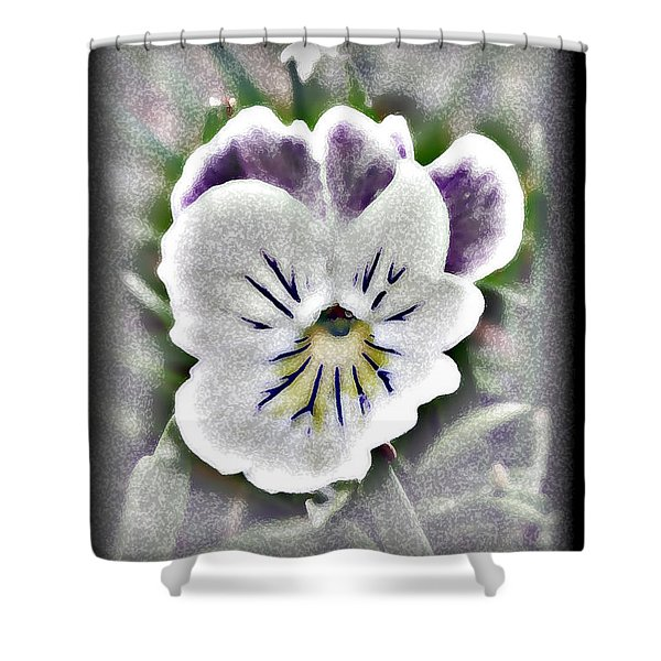 Little Pansy Shower Curtain