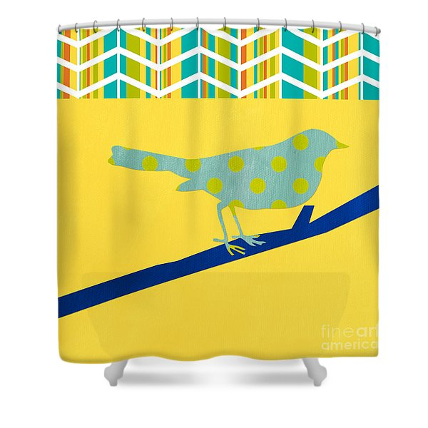 Little Song Bird Shower Curtain
