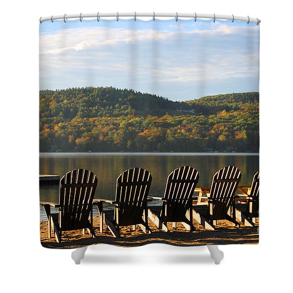Little Squam Relax 1 Shower Curtain