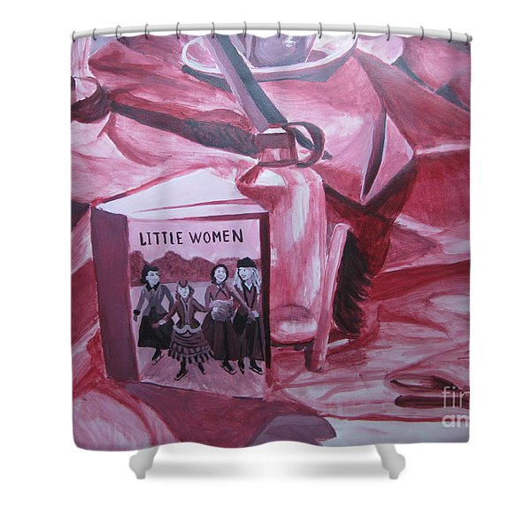 Little Women Shower Curtain