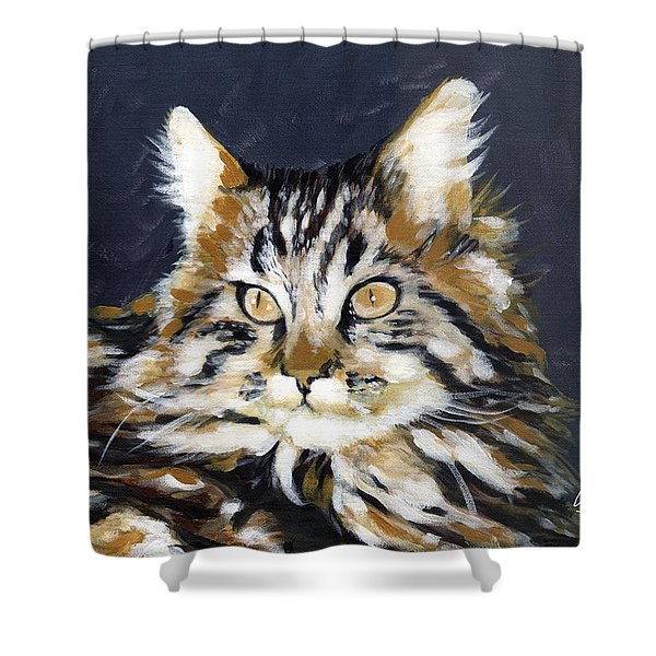 Looking At Me? Shower Curtain