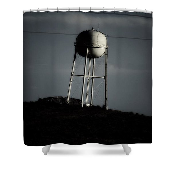 Lopsided Tower Shower Curtain