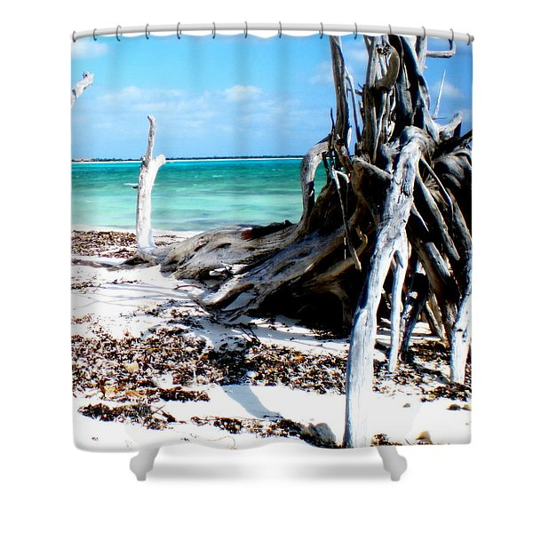 Cozumel Mexico  Paradise On Earth Shower Curtain
