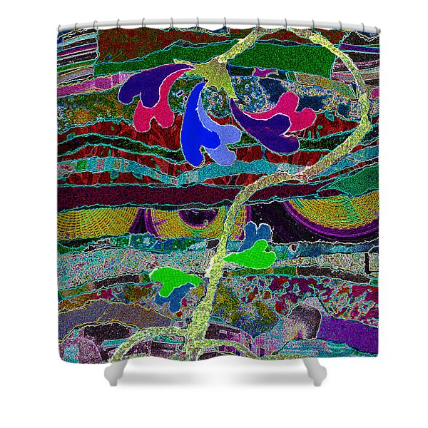 Loves Roots Shower Curtain