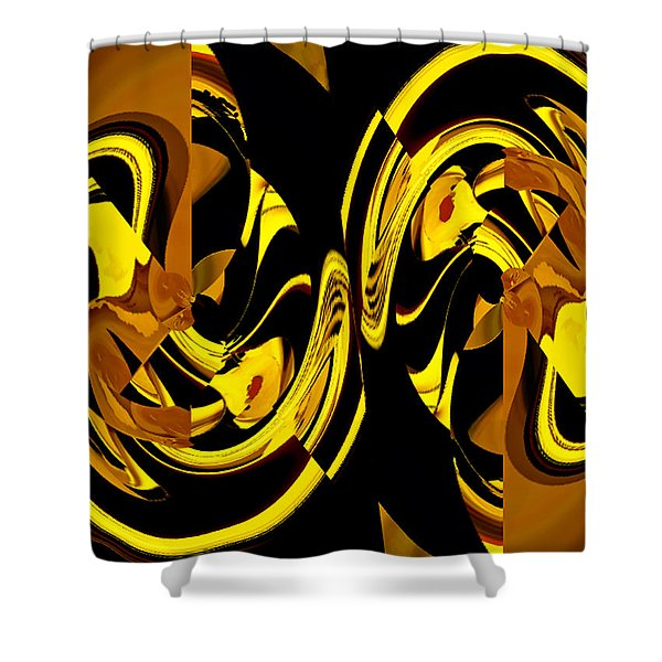 Luck Times Four Shower Curtain