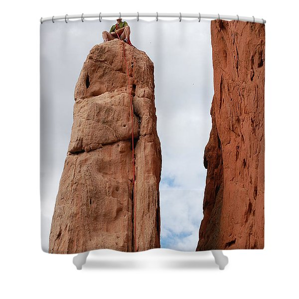 Lunch In The Mountains Shower Curtain