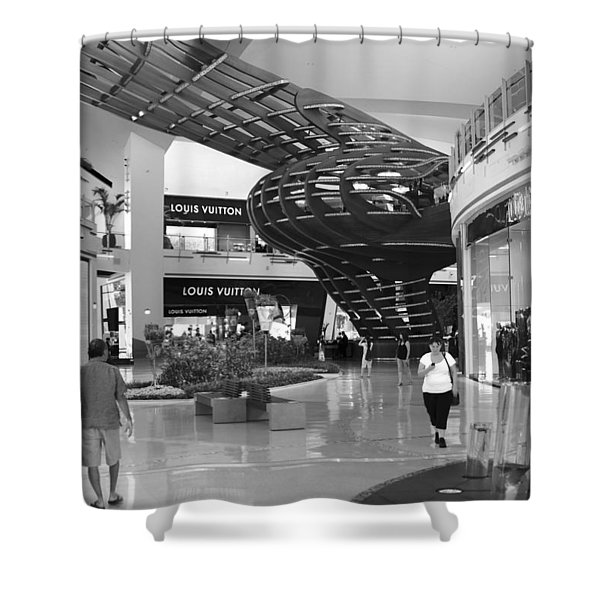 Mall Life Iv Shower Curtain