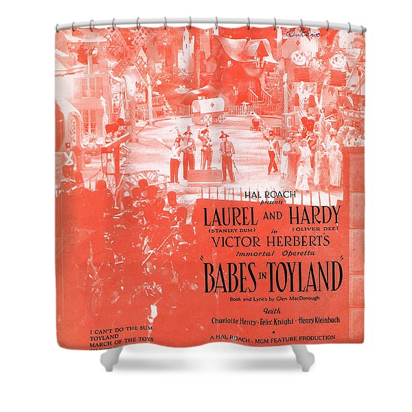 March Of The Toys Shower Curtain