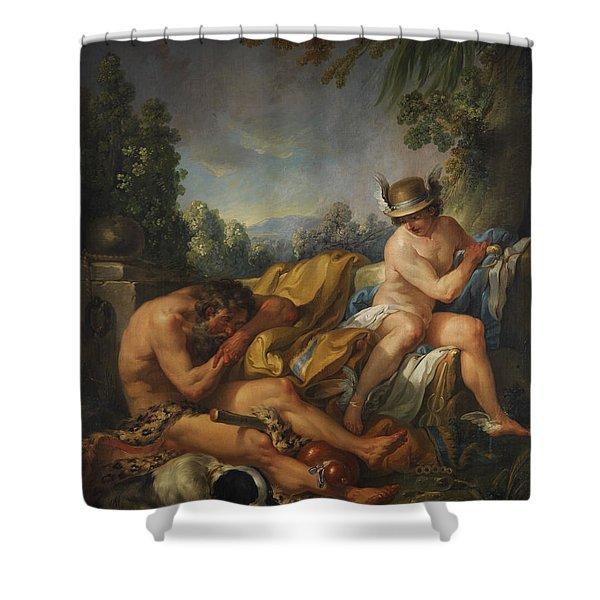 Mercury And Argus Shower Curtain