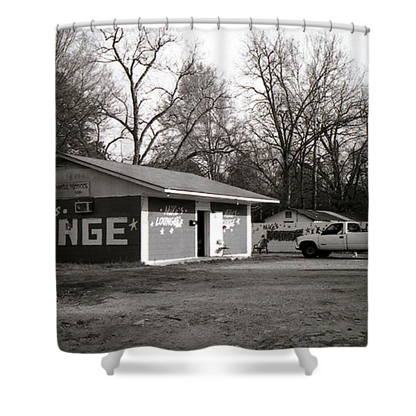 Mike's Lounge Shower Curtain
