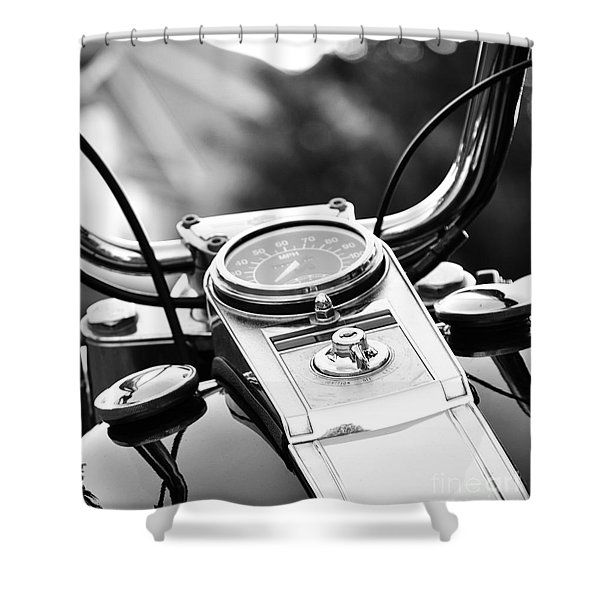 Miles To Go Before I Sleep Shower Curtain