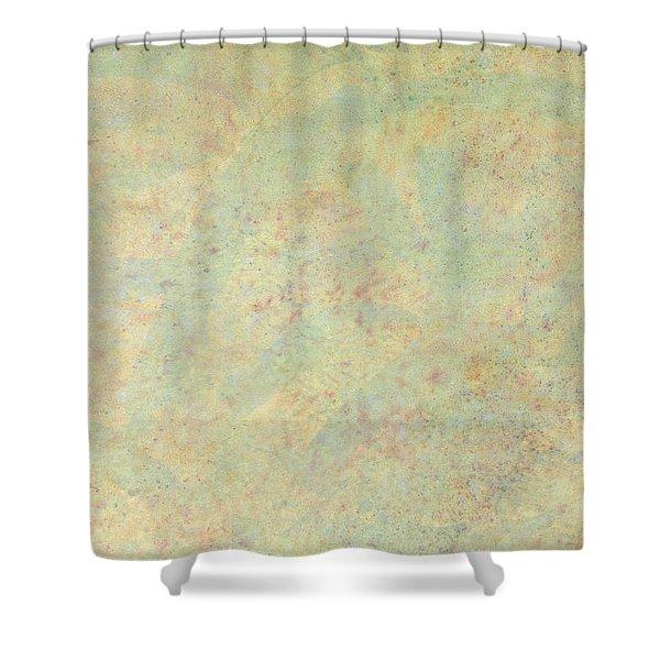 Minimal Number 4 Shower Curtain