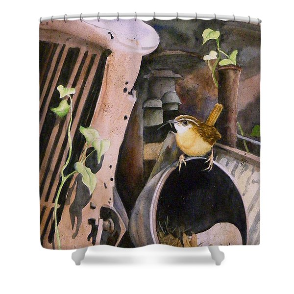 Mobile Home  Sold Prints Available Shower Curtain