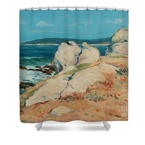 Monterey Coast Shower Curtain