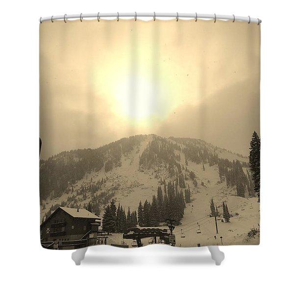 Morning Light Shower Curtain