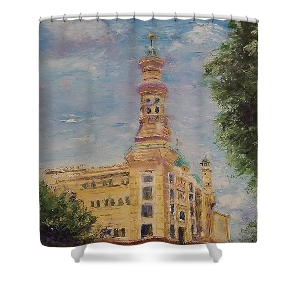 Murat Shrine Temple Shower Curtain
