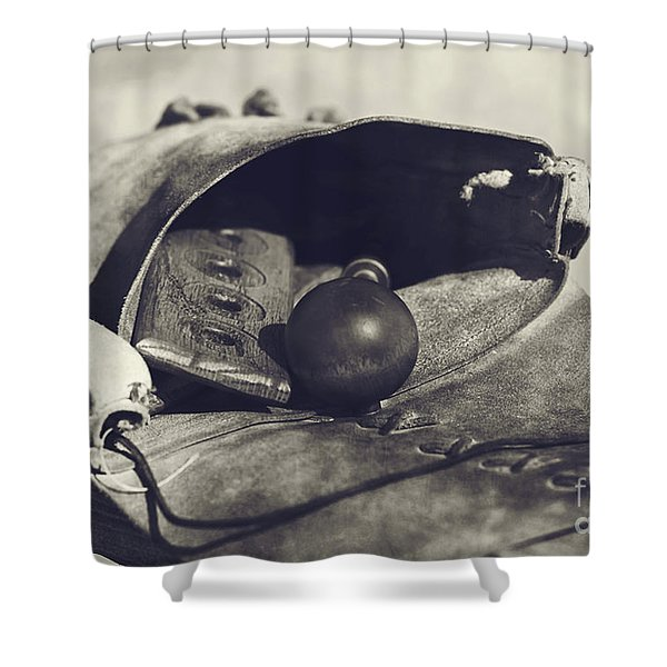 Muzzle Loader's Tools Shower Curtain