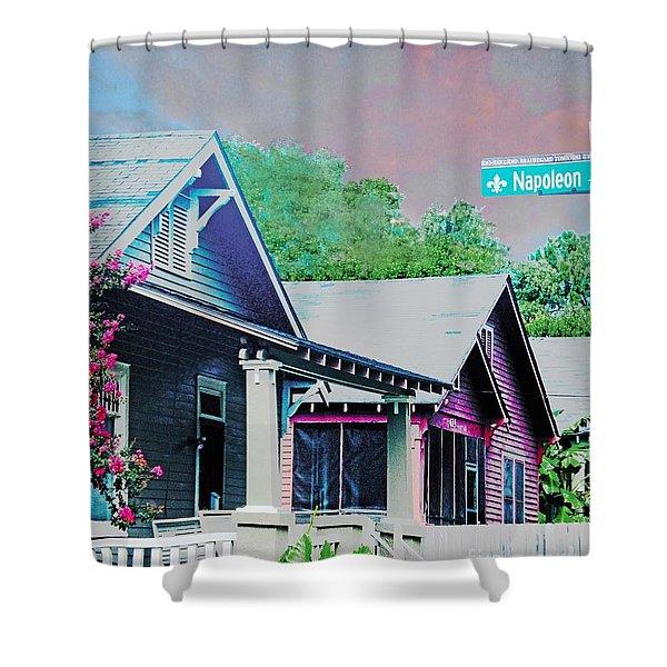 Napoleon Street Beauregard Baton Rouge Shower Curtain